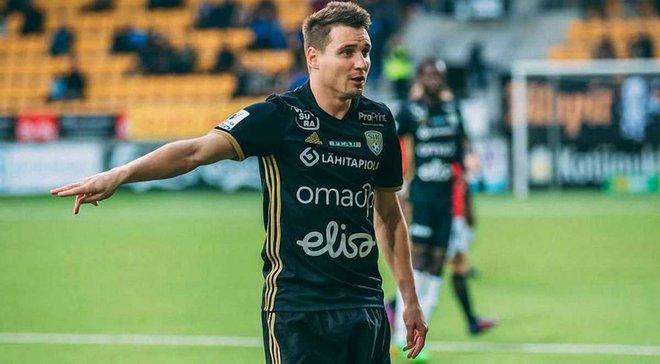 Олейник пяткой забил 11-й гол за Сейнайоки в сезоне-2020