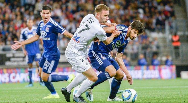 Лига 1: Лилль с голом обидчика сборной Украины победил Анже, Лион потерял шанс на лидерство из-за бывших игроков