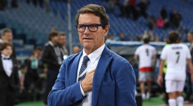 Капелло назвав три клуби, які можуть поборотися за чемпіонство в Італії