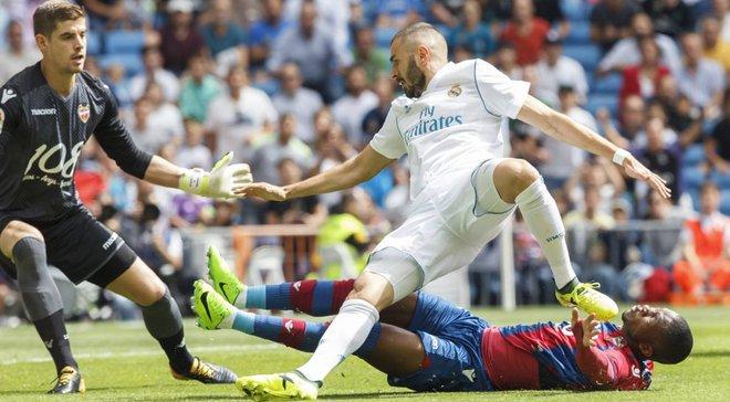 Реал Мадрид – Леванте: прямая видеотрансляция матча