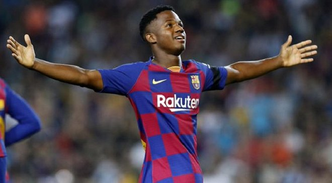 Барселона – Валенсия: невероятный Фати побил очередной рекорд Примеры
