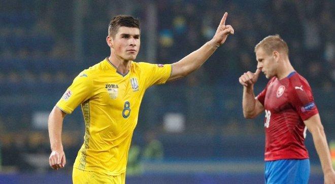 Гол Малиновского вошел в топ-10 лучших выстрелов отбора Евро-2020
