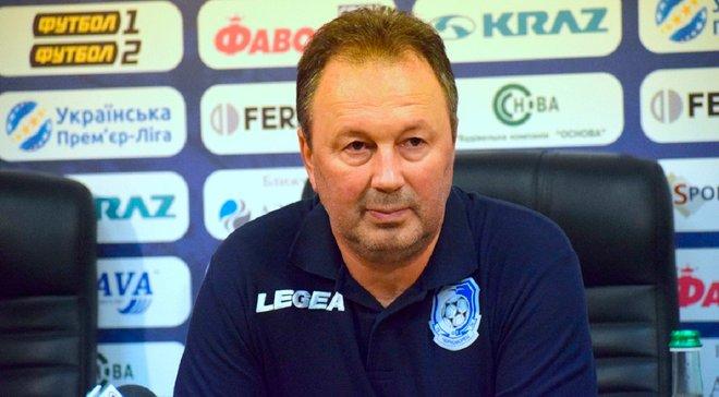 Червенков хоче подати у відставку з посади наставника Чорноморця після провального старту команди