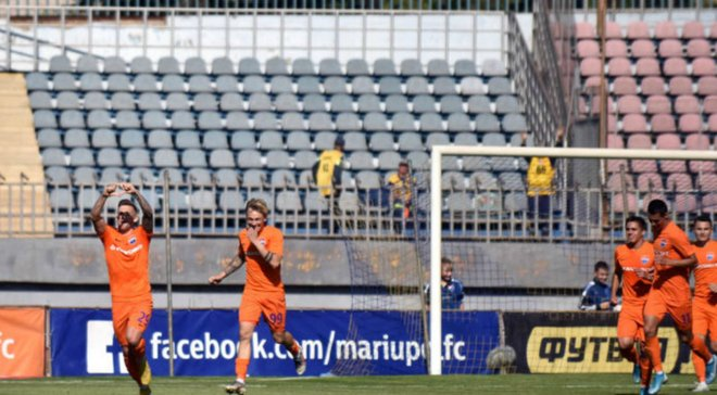 Дебютный гол Кирюханцева в видеообзоре матча Мариуполь – Олимпик – 1:1