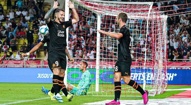 Марсель в матче с семью голами перестрелял Монако, Сент-Этьен не сумел дожать Тулузу: 5-й тур Лиги 1, матчи воскресенья