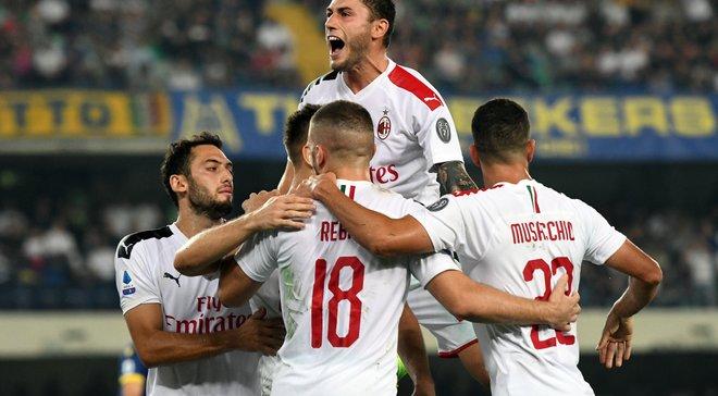 Гол Пйонтека и два грубых удаления в видеообзоре матча Верона – Милан – 0:1