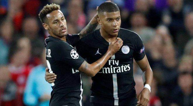 ПСЖ – Реал: Мбаппе та Неймар пропустять матч Ліги чемпіонів
