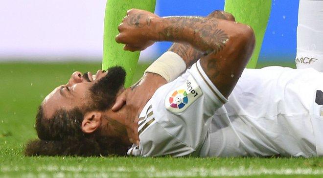 Марсело получил травму в матче против Леванте и выбыл на неопределенный срок