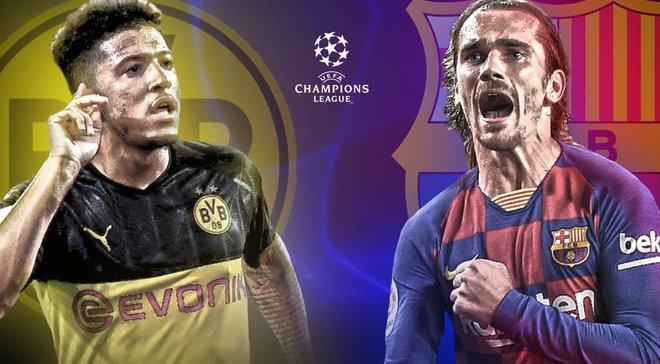 Борусія Д – Барселона: онлайн-трансляція матчу ЛЧ