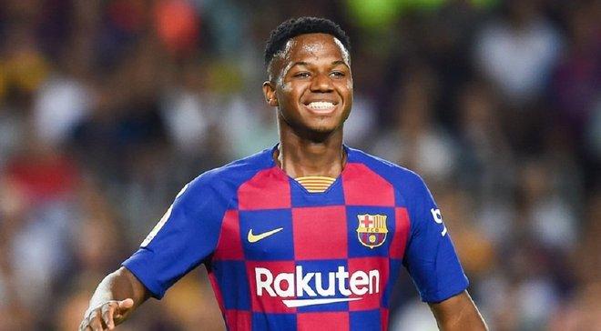 Барселона готує для 16-річного Фаті новий контракт
