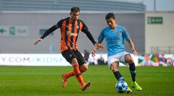 Шахтер U-19 – Манчестер Сити U-19: онлайн-трансляция матча Юношеской лиги УЕФА – как это было
