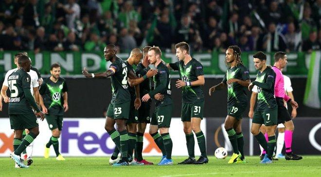 Вольфсбург – Олександрія – 3:1 – відео голів та огляд матчу