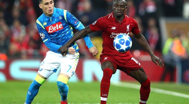 Наполи – Ливерпуль: онлайн-трансляция матча Лиги чемпионов