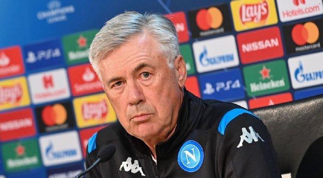 Анчелотти объяснил, почему Ливерпуль должен радоваться после поражения от Наполи