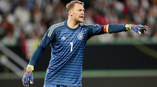 Нойєр роздумує над завершенням кар'єри у збірній Німеччини