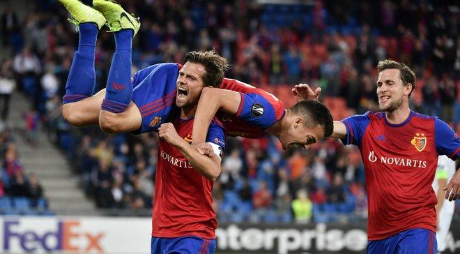 Ліга Європи: Базель декласував Краснодар, Севілья розгромила Карабах, Копенгаген переграв Лугано та сенсація Дюделанжа