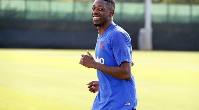 Дембеле повернувся до тренувань із Барселоною