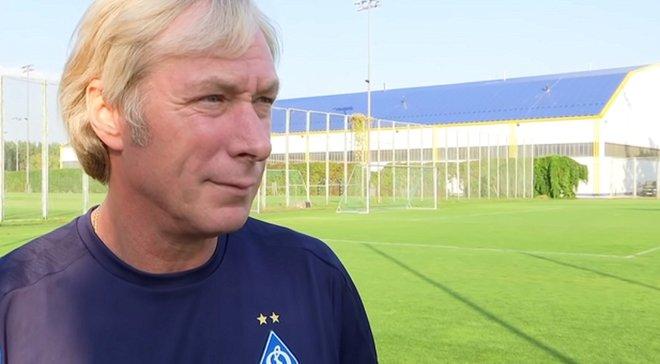 Михайличенко трогательно прослезился после победного гола Динамо в ворота Мальме