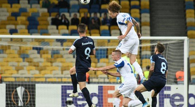 Шабанов попал в символическую сборную недели в Лиге Европы по версии Whoscored