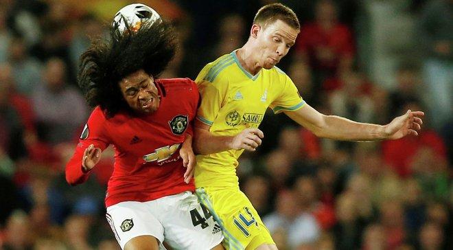 Григорчук доволен действиями игроков Астаны в матче против Манчестер Юнайтед