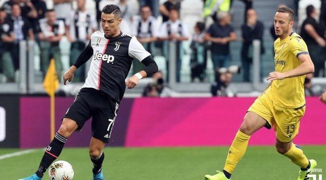 Ювентус  у непростому поєдинку здолав Верону, Брешія на виїзді переграла Удінезе: 4-й тур Серії А, матчі суботи