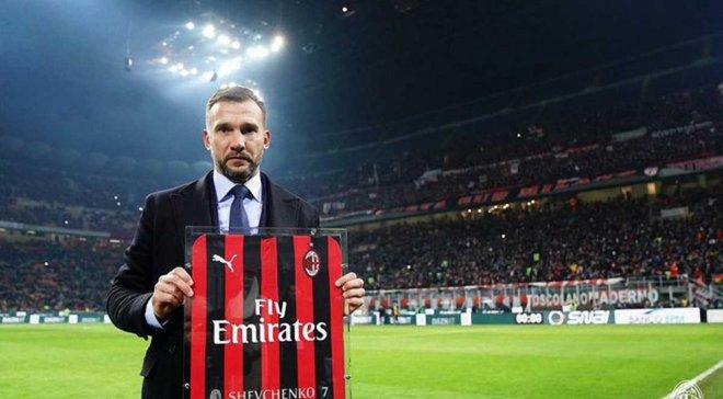 Милан – Интер Шевченко вспомнил свой звездный час накануне дерби