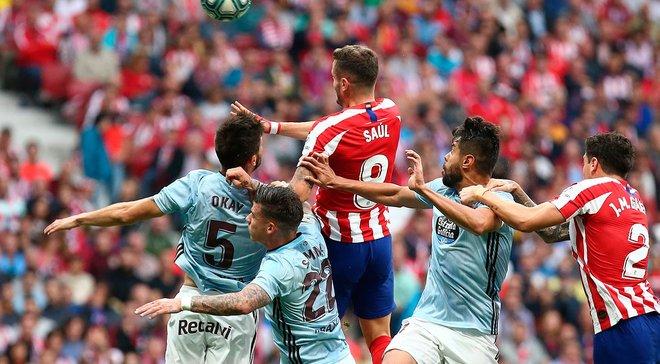 Сельта удержала выездную ничью с Атлетико, Вильярреал уверенно переиграл Вальядолид: 5-й тур Примеры, матчи субботы