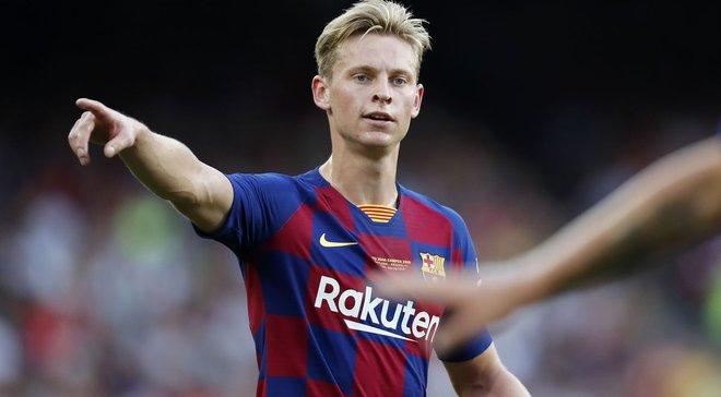 Де Йонг: Лише я винен, якщо погано граю за Барселону