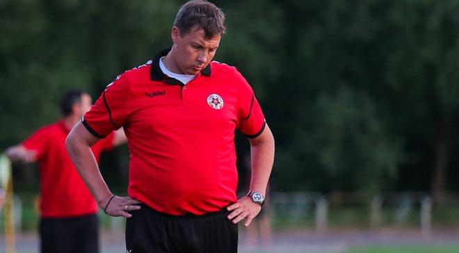 Тлумак подал в отставку с поста тренера Волыни