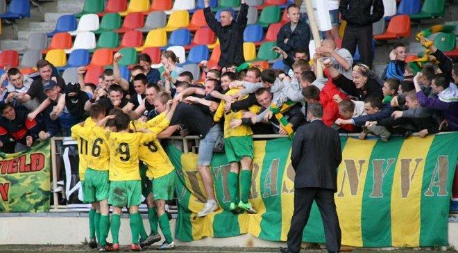 Вторая лига: Верес разошелся миром с Калушем, тернопольская Нива победой закрепилась на первом месте