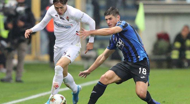 Малиновский стал лучшим игроком Аталанты в драматичном матче с Фиорентиной