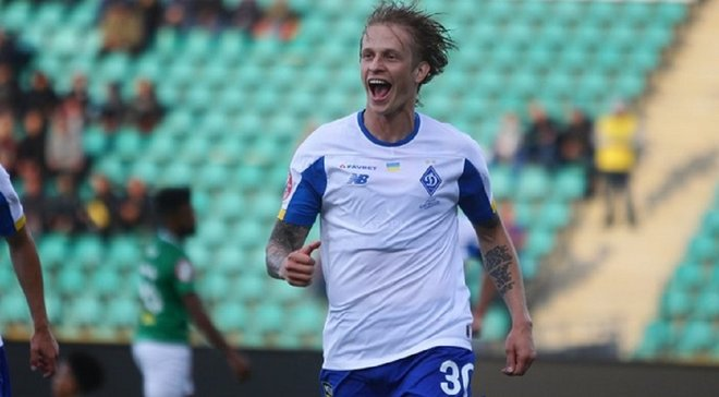 Шабанов забив прем'єрний гол за Динамо