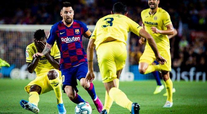 Барселона – Вільяреал – 2:1 – відео голів та огляд матчу