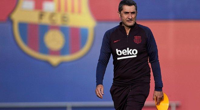 Вальверде впевнений, що криза Барселони скоро закінчиться