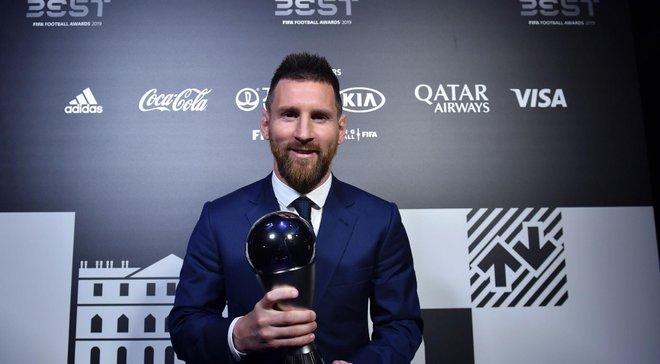 Результати голосування FIFA The Best-2019 – трійка лідерів сильно відірвалась від інших