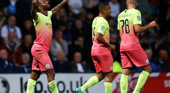 Манчестер Сіті без Зінченка на класі здолав Престон і вийшов до наступного раунду Кубка ліги