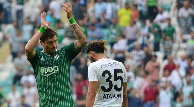Селезньов дебютним голом та розкішним асистом допоміг Бурсаспору виграти матч Кубка Туреччини