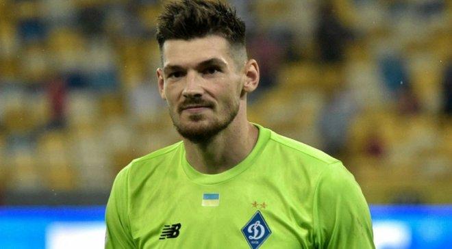 Мариуполь – Динамо: Бойко получил повреждение во время предматчевой разминки