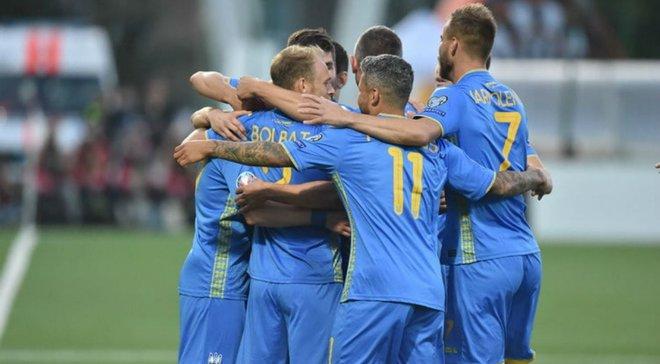 Збірна України може зіграти у Росії у разі виходу на Євро-2020