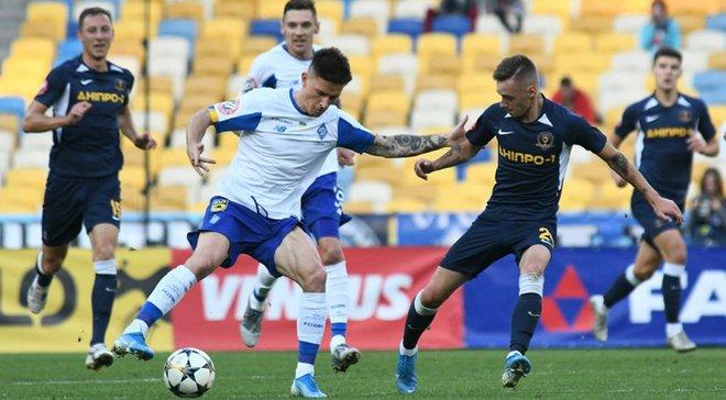 Динамо – СК Дніпро-1 – 2:0 – відео голів та огляд матчу