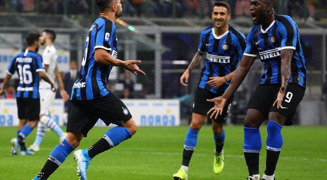 Интер одолел Лацио, Лечче с Шаховым победил СПАЛ, Наполи сенсационно уступил Кальяри: 5-й тур Серии А, матчи среды
