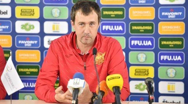 Поворознюк пообіцяв подвійні преміальні за перемогу над Карпатами в Кубку України, – тренер Інгульця Лавриненко