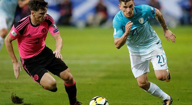 Вербич попал в заявку сборной Словении на матчи отбора к Евро-2020