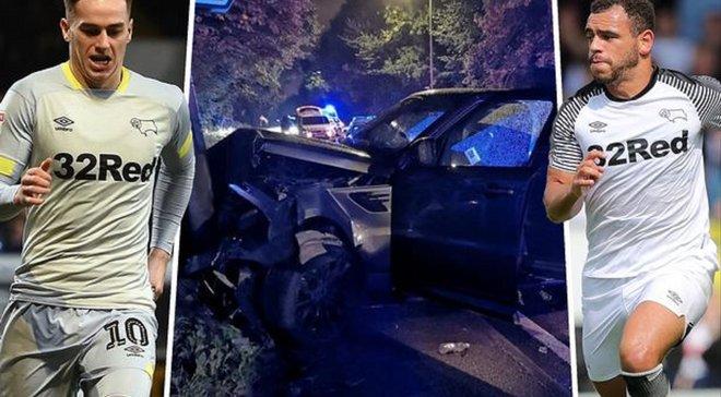 Пьянствовал, сел за руль – выбыл до конца сезона: капитан Дерби Каунти попал в больницу, а его партнеры – под суд