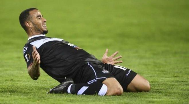 Форвард Лугано Карліньйос зазнав травми і ризикує не зіграти проти Динамо