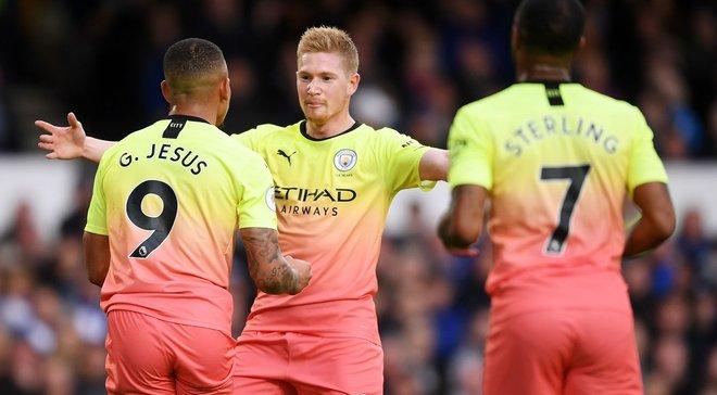 Евертон – Манчестер Сіті: Едерсон рятує Гвардіолу, Зінченко в складі проблемної оборони, Марез і де Брюйне – маги