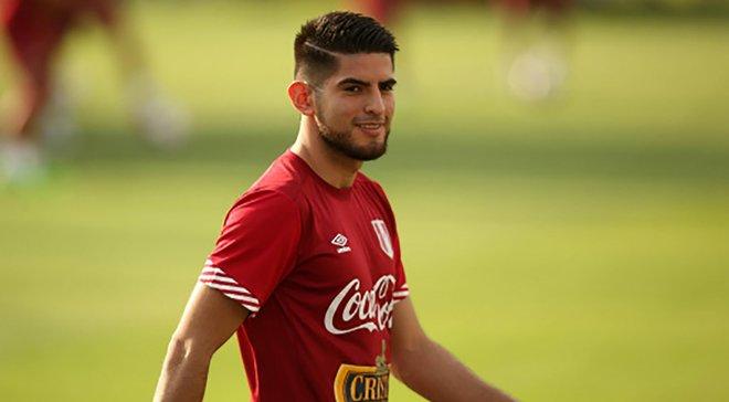 Самбрано вызван в сборную Перу