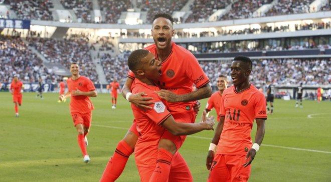Лига 1: Неймар и Мбаппе приносят победу ПСЖ, Монако разгромил Брест, Лион потерпел очередной провал в матче с Нантом
