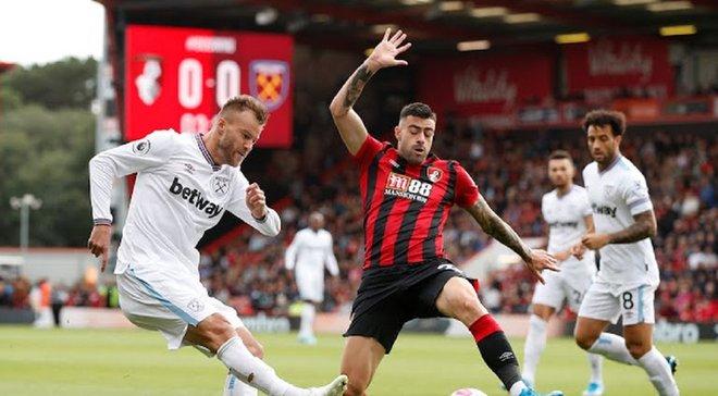 Ярмоленко во втором матче подряд забил красивый гол за Вест Хэм