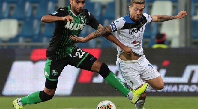 Сассуоло – Аталанта – 1:4 – видео голов и обзор матча